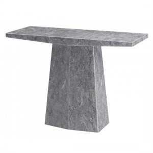 Multan Marble Console Table In Natural Stone