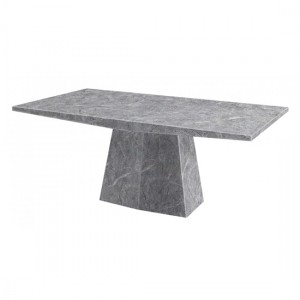 Multan Natural Stone Marble Dining Table In Lacquer