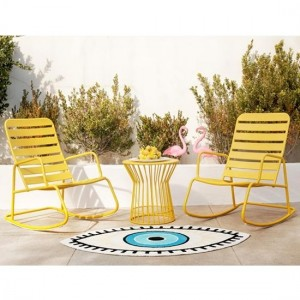 Novogratz Roberta Rocker Set In Yellow