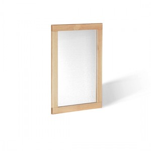 Ocean Wall Bedroom Mirror In Oak Frame