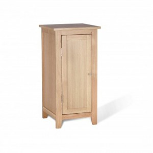 Ocean Wooden Small Storage Cabinet In Oak