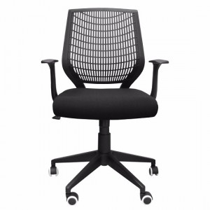 Pace Fabric Hard Backed Office Chair In Black