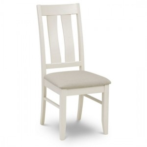 Pembroke Wooden Dining Chair In Ivory
