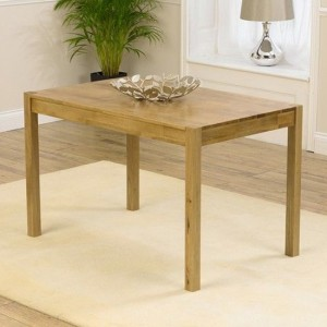 Promo Wooden Dining Table In Oak