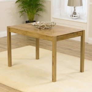 Promo Large Wooden Dining Table In Oak