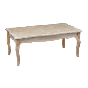Provence Wooden Coffee Table In Weathered Oak
