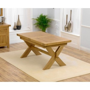 Hammersmith Extending Solid Oak Waxed Dining Table