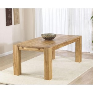 Calligaris Wooden Dining Table Rectangular In Solid Oak