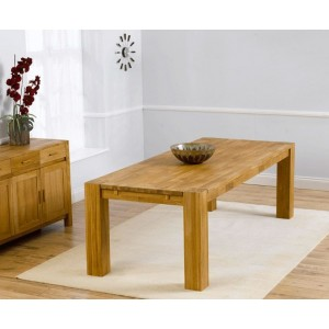 Calligaris Wooden Large Dining Table Rectangular In Solid Oak