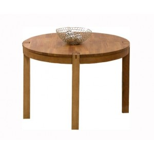 Brigham Wooden Round Dining Table