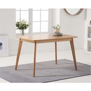 Coxmoor Wooden Extending Dining Table In Oiled Oak Finish