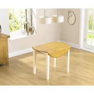 Nala 100cm Solid Hardwood Drop Leaf Dining Table
