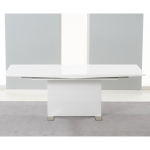 Muriel Extending White Dining Table