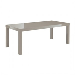 Puro Wooden Coffee Table In Stone High Gloss