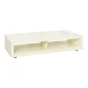 Puro Wooden TV Stand In Cream High Gloss
