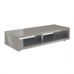 Puro Wooden TV Stand In Stone High Gloss