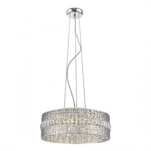 Menkib Decorative Luminaire Pendant In Chrome
