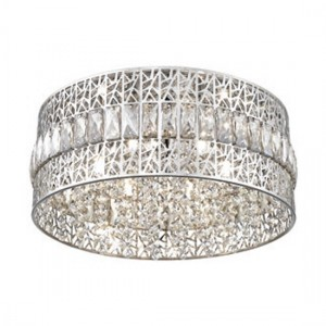 Menkib Luminaire Ceiling Light In Chrome