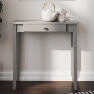 Rosewood Wooden Console Table In Grey