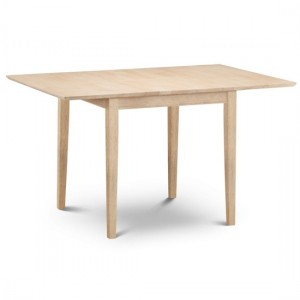 Rufford Extending Wooden Dining Table In Natural