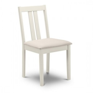 Rufford Wooden Dining Chair In Ivory
