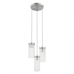 Nunki Decorative Luminaire Pendant In Satin Nickel