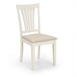Stanmore Wooden Dining Chair In Ivory