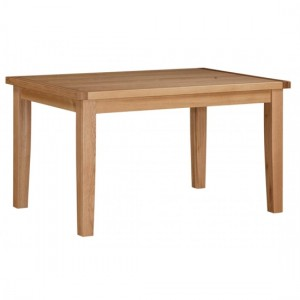 Stirling Extending Wooden Dining Table In Oak