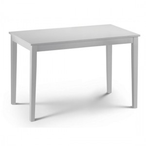 Taku Wooden Dining Table In White