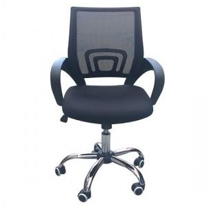 Tate Mesh Back Home And Office Chair In Black