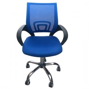 Tate Mesh Back Home And Office Chair In Blue
