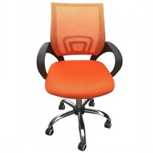 Tate Mesh Back Home And Office Chair In Orange