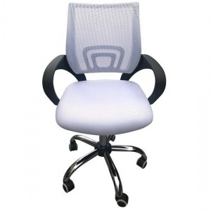 Tate Mesh Back Home And Office Chair In White