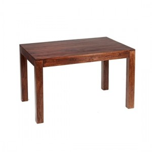 Toko Large Wooden Dining Table In Dark Walnut