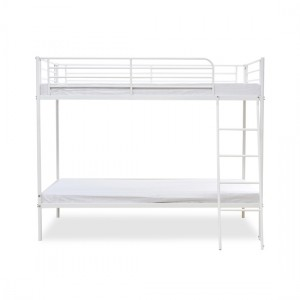 Torquay Metal Bunk Bed In White