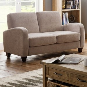 Vivo Chenille Fabric Sofabed In Mink