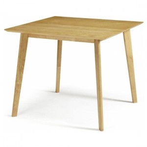 Westminister Small Wooden Dining Table In Oak