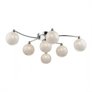Tabit Luminaire Ceiling Light In Chrome And Clear