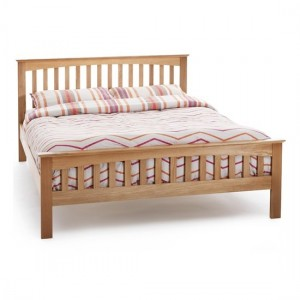Windsor Wooden King Size Bed In Oak
