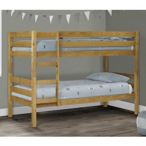 Wyoming Wooden Bunk Bed In Pine